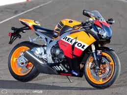2009 honda cbr1000rr comparison track motorcycle usa
