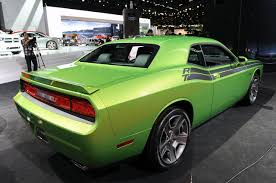 Dodge Challenger Lime Green - vintage trans am go green envy challenger meatball racing