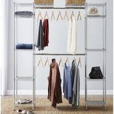 Shallow Closet Organizer - closet systems u0026 organizers you u0027ll love wayfair