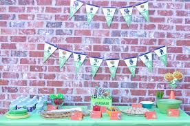 Plants Vs Zombies Decorations Plants Vs Zombies Birthday Party