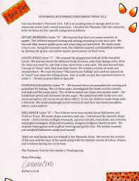words related to thanksgiving preschool newsletter ideas october preschool newsletter ideas
