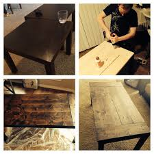 Ikea Lack Hacks Turned Two Ikea Lack Tables Into One Coffee Table By Screwing In