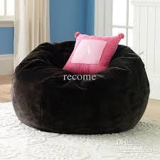 2018 brown sherpa large beanbags modern faux fur large lounge