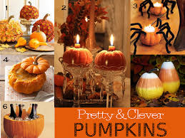 Decorating With Fall Leaves - autumn pumpkins and leaves