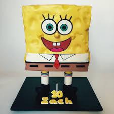 sponge bob square pants cake cakecentral com