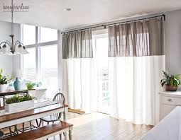 Two Tone Curtains Diy Two Toned Curtains Honeybear