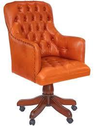 fauteuil de bureau marron fauteuil de bureau anglais chesterfield cuir wingfield meuble de style
