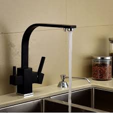 water filter kitchen faucet luxury square style matte black kitchen faucet longreach sink