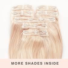 clip in hair hair extensions clip in hair extensions milk blush uk