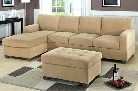 Small Scale Sectional Sofa Recliner Corner Chaise Bed Lounge