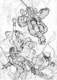 the bombshellter x men 7 cover step by step 2