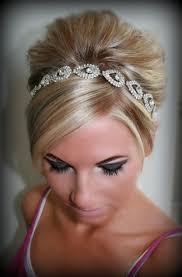 rhinestone headbands wedding headpiece headband elsie rhinestone headband