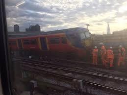 waterloo train derails in u0027operational incident u0027 at london station
