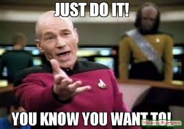 You Know Meme - just do it you know you want to meme picard wtf 63118
