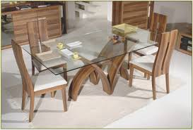 dining room best rectangle glass dining room table room design