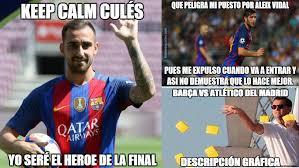 Futbol Memes - los mejores memes del bar礑a atl礬tico el barcelona sobrevive a