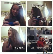 Jake State Farm Meme - jake from state farm by rofllmfao meme center