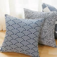 taie d oreiller pour canapé japonais style décoratif housses de coussin taies d oreiller pour