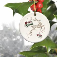 personalized ceramic vintage ornament