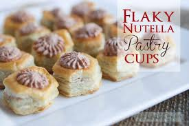i made the best dessert with pepperidge farm puff pastry cups