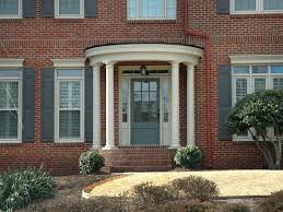 brick house front door blue front door on red brick house ideas homestylediary com