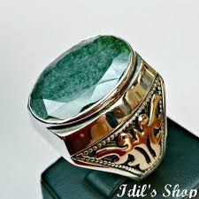 jewelry rings mens images Men 39 s ring turkish ottoman style jewelry 925 sterling silver jpg