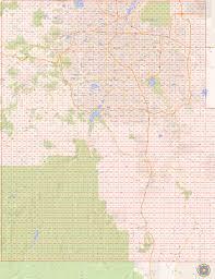 Blm Colorado Map by Colorado Springs El Paso Co Dispatch Map Area The Radioreference