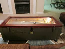 shipping crate coffee table mosin nagant rifle crate coffee table aim