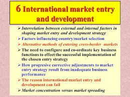 20 6 internat u0027l market entry1 6 international market entry and