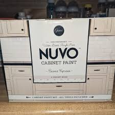 can you spray nuvo cabinet paint nuvo cabinet paint kit coconut espresso nib