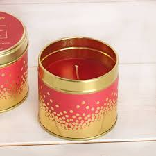 Scented Fireplace Logs by Log Fire Scented Candle Tin By Red Berry Apple