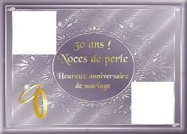 30 ans mariage montage photo 30 ans de mariage pixiz