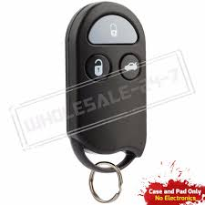 nissan altima 2015 replacement key replacement for 2000 2001 nissan altima key fob shell case ebay