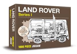 land rover drawing land rover series 1 jigsaw 1000 piece jigsaw amazon co uk