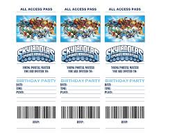 birthday party planner template skylanders birthday party invitations are hard to come by my son birthday party ideas