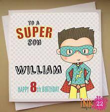 superhero birthday card ebay