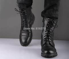 mens lace up motorcycle boots black men u0027s winter mid calf boots cool rivets leather lace up high