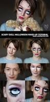 scary doll halloween make up a tutorial u2013 zoe newlove