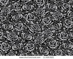 stock vector tattoo style roses background vector illustration of