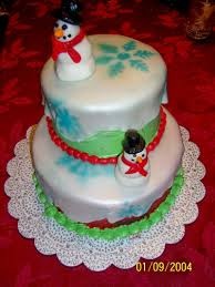 christmas themed birthday cake ideas decorating of party