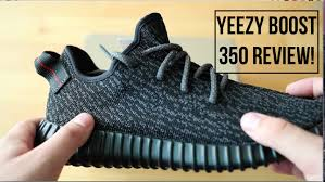 black review unboxing the kanye yeezy boost 350 black review
