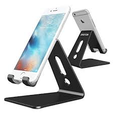 Cell Phone Holder For Desk Amazon Com Updated Solid Version Omoton Desktop Cell Phone
