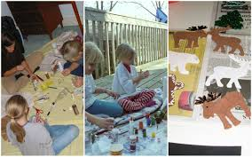 new year and christmas concepts set flat winter fun holiday save