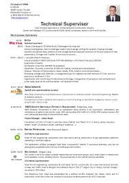 Resume Supervisor Resume Write A Salary Report Lse Masters In Finance Personal