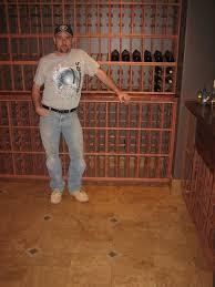 Wine Cellar Floor - tile perfection owner scott graeser and wine cellar floor yelp