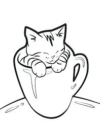 coloring page of a kitty coloring page of a cat cat coloring pages cute cat coloring pages