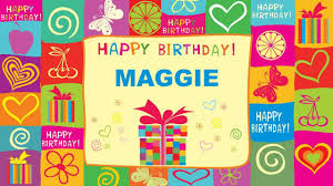 maggie animated cards happy birthday youtube