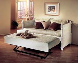 White Daybed With Trundle Twin Daybed Frame With Pop Up Trundle Frame Decorations