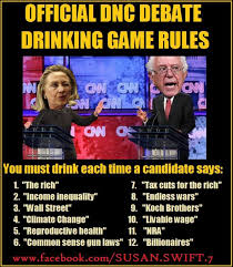 Drinking Game Meme - tonight s democrat debate drinking game and cnn fluff questions