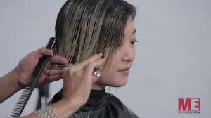 the matrix haircut hairhacks how to create an asymmetric bob haircut matrix youtube